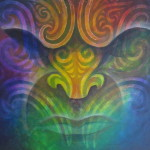 Rainbow Warrior -Ta Moko, Maori Tattoo, Whakairo, Maori Carvings, Paintings, Maori art in Waitomo New Zealand