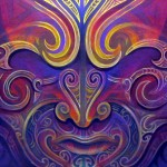 Magician -Ta Moko, Maori Tattoo, Whakairo, Maori Carvings, Paintings, Maori art in Waitomo New Zealand