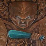 Maniapoto -Ta Moko, Maori Tattoo, Whakairo, Maori Carvings, Paintings, Maori art in Waitomo New Zealand