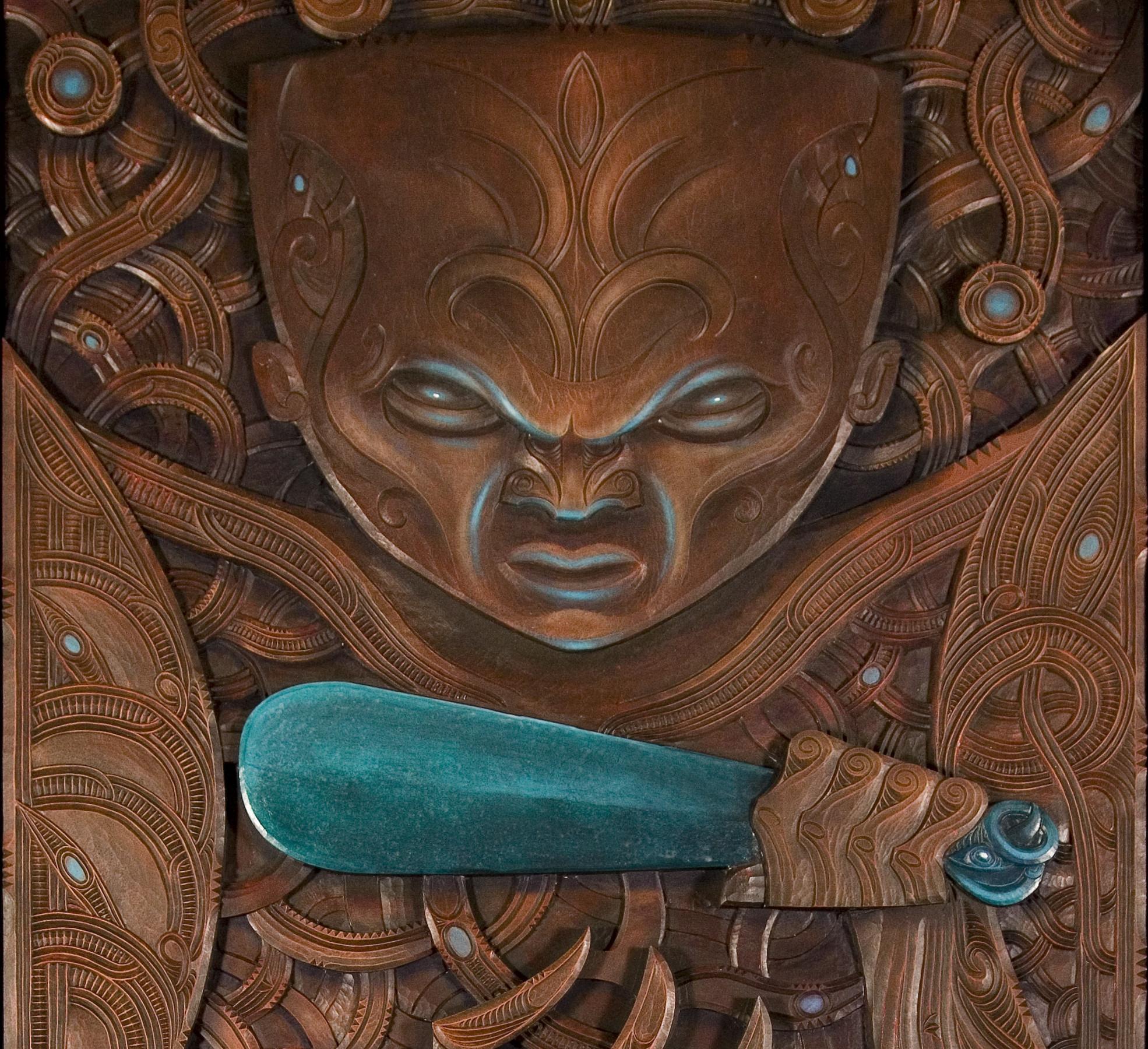 Traditional Maori Art: Karamaha