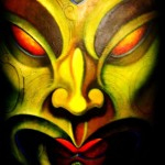 I Am... - Ta Moko Maori Tattoo Whakairo Maori Carvings Paintings Maori art in Waitomo New Zealand